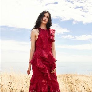 Keepsake the Label Shine midi dress NWT